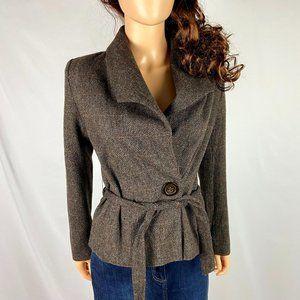 SALE 🌻 H&M Brown Tweed Cropped Jacket